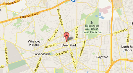 LASIK Long Island Deer Park Map