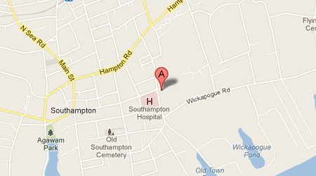 LASIK Long Island Southampton Map